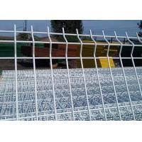 Wholesale Powder Hot Dip Galvanized Garden Mesh Fencing / Welded Triangle Bending Fence from china suppliers