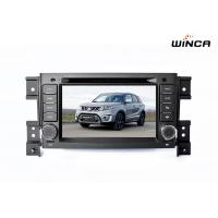Buy cheap 1024*600 Resolution Car Audio GPS Navigation For Vitara 2006-2010 from wholesalers