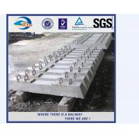 China factory sale concrete railway sleepers turnout switch concrete sleepers on sale