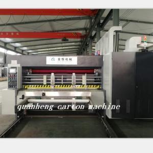 Buy cheap QH high speed corrugated carton lead edge feeder flexo Printing Die Cutting from wholesalers