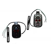 Wholesale ABS Harley Motorcycle Spare Parts , Black 12v Led Motorcycle Tail Lights from china suppliers