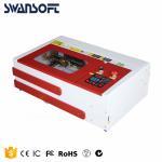 China Mini/Desktop CO2 Laser Engraver/Cutter laser cutting machine 300x200mm for sale