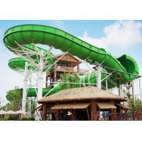 Wholesale Large durable Custom Water Slides / Profitable water amusement play equipment for families by raft or body from china suppliers