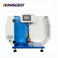 China 560* 300* 840mm Size Digital Display Charpy And Izod Impact Strength Test Equipment with LCD Touch for Plastic on sale