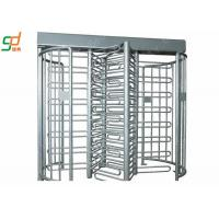 Wholesale Stainless Steel Access Control Full Height Barriers With Card Reader from china suppliers