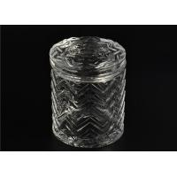 Wholesale Bulk Glass Tealight Holders / Glass Candlestick Holders Used In Sented Soy Wax from china suppliers