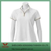 Wholesale Ladies White Simple Sports T Shirt from china suppliers