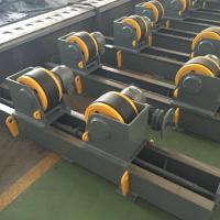 Wholesale Single Drive Conventional Welding Turning Roll Rotator Speed Adjust By VFD from china suppliers