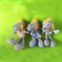 China Plush and stuffed toy 2014 new design reflective lion key chain on sale