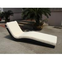 Wholesale Modern Luxury Comfortable Wicker Rattan Sun Lounger For Poolside from china suppliers