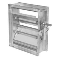 Wholesale Aluminum Air diffuser Damper from china suppliers