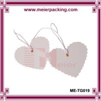 Wholesale Heatshape thank you paper hangtag/Personalized Gift Tag/Wedding Favr Love Heart Tag ME-TG019 from china suppliers