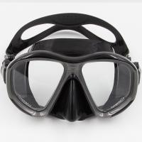Quality Adult professional Liquid Silicone Free Diving Mask With Tempered Glasses Lens for sale