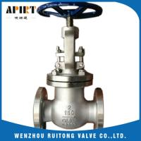 China stainless steel 304 CF8 API flange globe valve in middle east for petroleum for sale