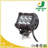 Buy cheap 18w led light bar 12v waterproof led light bar for car from wholesalers