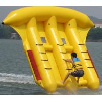 Wholesale Exciting Inflatable Toy Boat , 0.9mm PVC Inflatable Flyfish for Water Sport from china suppliers