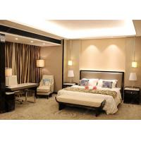 Wholesale Veneer And Marble Five Star Hotel Furniture , King Size Hotel Style Bedroom Furniture from china suppliers
