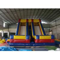 Wholesale Large Double Lanes Commercial Adult Inflatable Slide For Amusement Park from china suppliers