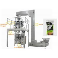 Wholesale Walnuts Ffs Packing Machine , Touch Screen Operate Automatic Pouch Packing Machine from china suppliers