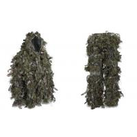 Wholesale Hybrid Woodland Camouflage Ghillie Suit Lightweight from china suppliers