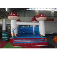 Wholesale 0.55mm PVC Tarpaulin Inflatable Bouncer , Mushroom Shape Used Party Jumpers For Sale from china suppliers