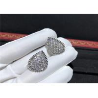 Wholesale Boucheron Serpent Boheme L Motif Ear Clips Set Full Diamond Paved from china suppliers