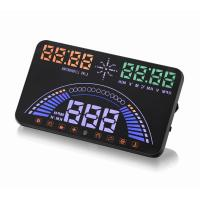 Quality Ouchuangbo  S7 HUD Head Up Display Combing OBD and GPS Two Systems Engine Fault Alarm Dynamic Speed Over Warning for sale