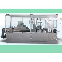 China Flat Type Aluminum Plastic Pharmaceutical Blister Packaging Machines with PLC Control on sale