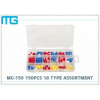Wholesale MG - 150 Customized Wire Terminal Assortment Kit 18 Types Terminals / Disconnects With PO Box from china suppliers