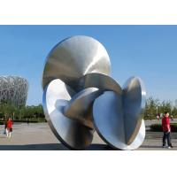 Wholesale Modern Decoration Large Outdoor Metal Sculptures All Stainless Steel 316L from china suppliers