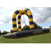 Wholesale 40x20Ft Inflatable Party Games Wrecking Ball , Customized Extreme Human Demolition Ball from china suppliers