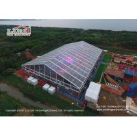 Wholesale Transparent PVC Material  Outdoor Party Tents For 1500 People Concerts from china suppliers