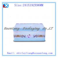 Quality Rectangular wine tin box for sale