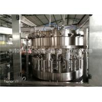 Wholesale 2-In-1 Monoblock PLC Control Beer Canning Line / Carbonated Beverage Can Filling Machine from china suppliers