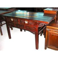 Wholesale Chinese furniture, Antique Dongyang Carving Table from china suppliers