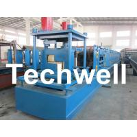 Wholesale Customized Steel Z Shaped Purlin / Z Channel Roll Forming Machine TW-Z300 from china suppliers