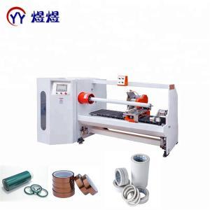 Wholesale YUYU Single Shaft PVC 1300mm Tape Roll Cutting Machine from china suppliers