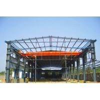 China Industrial Steel Frame Buildings / Heavy Duty Metal Workshop Construction for sale