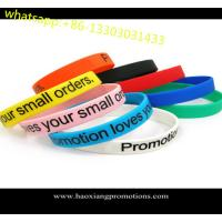 Wholesale Custom Promotional Wrist Band,Adjustable Silicon Wristband,Promotional Silicon Bracelet from china suppliers