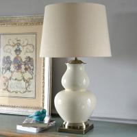 China USA morden Ceramic Bedroom Home Table Lamp for sale