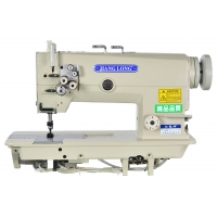 Wholesale Thread Clamp DP×5 Twin Needle Lockstitch Sewing Machine For Leather Bag from china suppliers