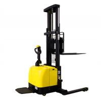 Wholesale Wide Legs1.6 Ton Electric Pallet Stacker Forklift 280AH Battery Charged from china suppliers