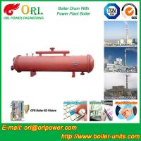 Wholesale Boiler Parts Coal Fired Boiler Steam Drum Corrosion Resistance For Industrial from china suppliers