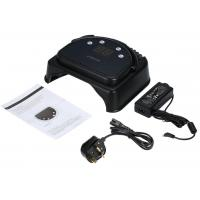 Quality Electric Black 64W Gel Light Nail Dryer Rechargeable Metal Style Led Uv Nail Lamp for sale