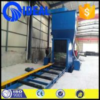 Quality Automatic professional steel plate shot blaster grit shot blasting machine from for sale