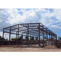 China Steel Structure Warehouse With Overhead Crane Lost Cost Lightweight for sale