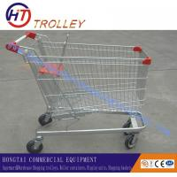 Wholesale Small Iron & Metal Supermarket Shopping Cart With Baby Seat Wheeled Four from china suppliers