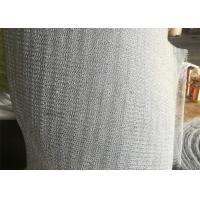 China PTFE Mix Plastic Knitted Wire Mesh 316 Stainless Steel For Vapor - Liquid Separation on sale