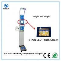 Wholesale Ultrasonic height weight scales with blood pressure , temperature, fat mass  for medical  Equipment from china suppliers