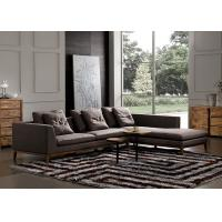 Wholesale Customized Fabric Sectional Sofas Strong Legs Eco Material Easy To Maintain from china suppliers